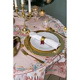 """Скатерть """"Этель"""" Pink magic d=150см +/-3см с ГМВО, 100% хл, саржа 190 гр/м2, фото 5"""
