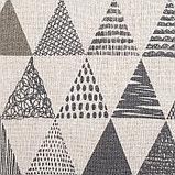 Скатерть Доляна 145х145см «Треугольники», фото 2