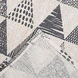Скатерть Доляна 145х145см «Треугольники», фото 4