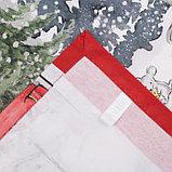 """Скатерть """"Этель"""" Праздник в лесу 147х220 см с ГМВО,100% хл,саржа 190гр/м2, фото 5"""