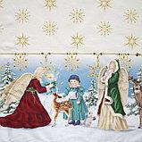 """Скатерть Этель """"Christmas time"""" 150х185см +/-3см с ГМВО, хл100%, фото 5"""