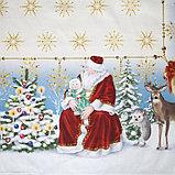 """Скатерть Этель """"Christmas time"""" 150х185см +/-3см с ГМВО, хл100%, фото 6"""