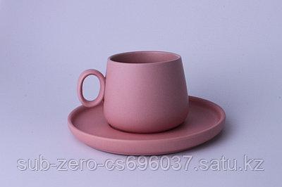 Милые чайные пары из керамики матового цвета