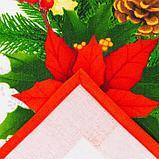 """Скатерть Этель """"Рождественский бал"""" 150х220см +/-3см с ГМВО, хл100%  Н У, фото 4"""