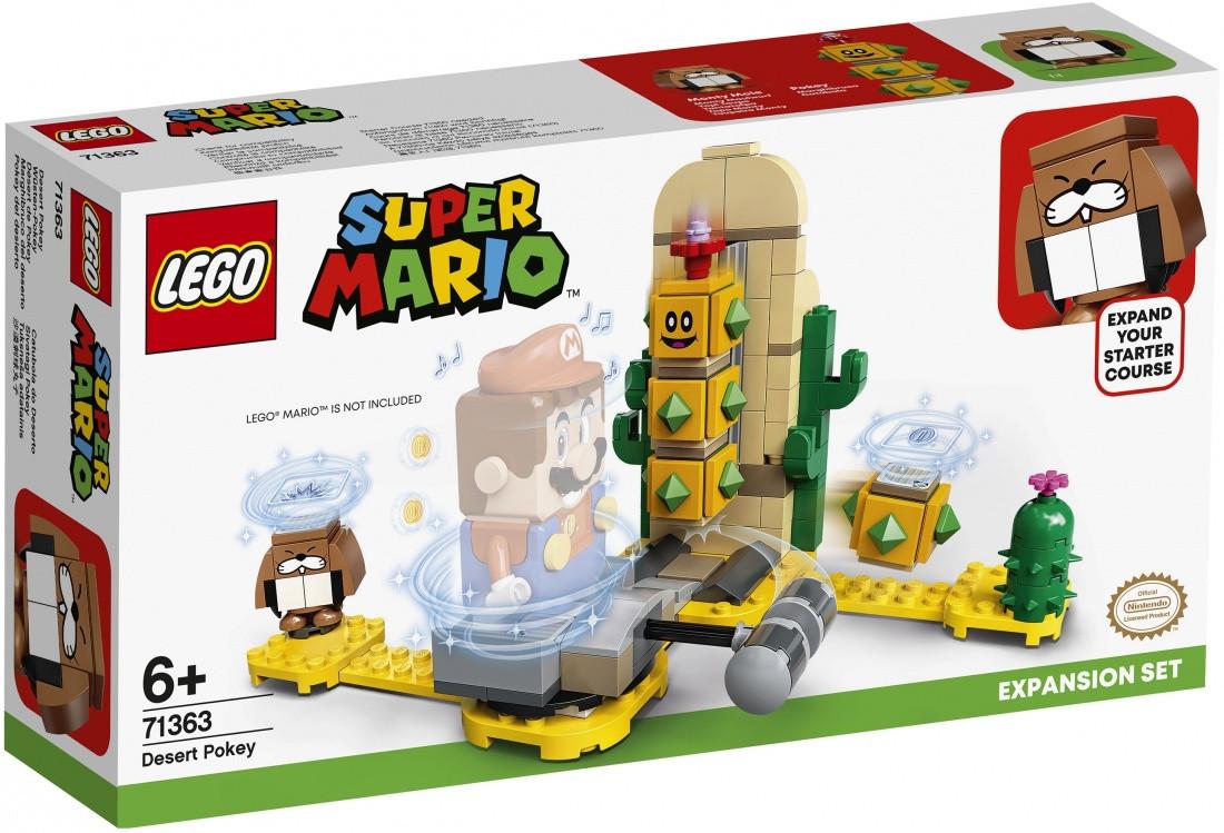 71363 Lego Super Mario Поки из пустыни. Дополнительный набор, Лего Супер Марио
