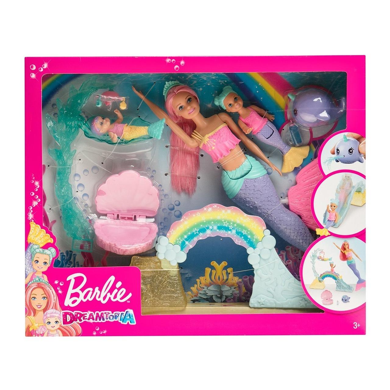 """Barbie """"Дримтопиа"""" Игровой набор Барби с маленькими русалочками"""