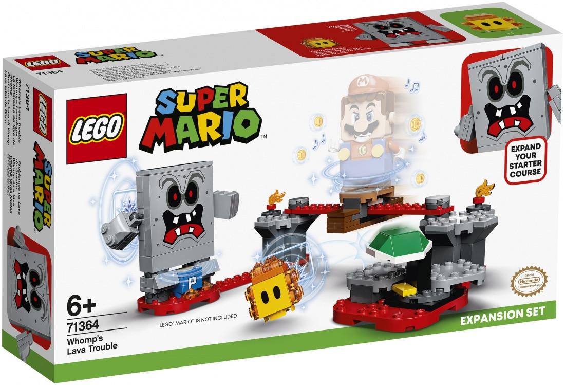 71364 Lego Super Mario Неприятности в крепости Вомпа. Дополнительный набор, Лего Супер Марио