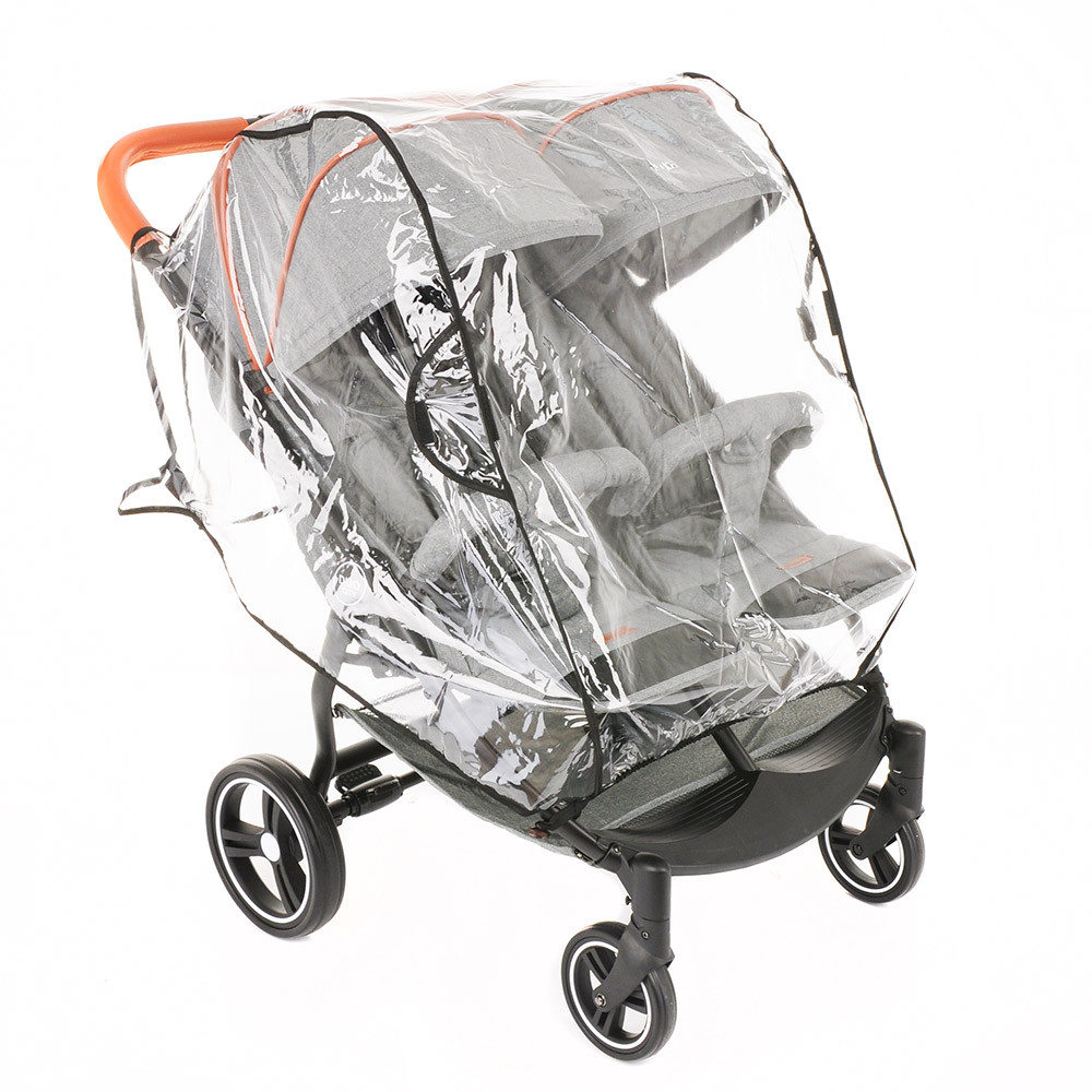 Дождевик для коляски для двойни BamBola ПВХ