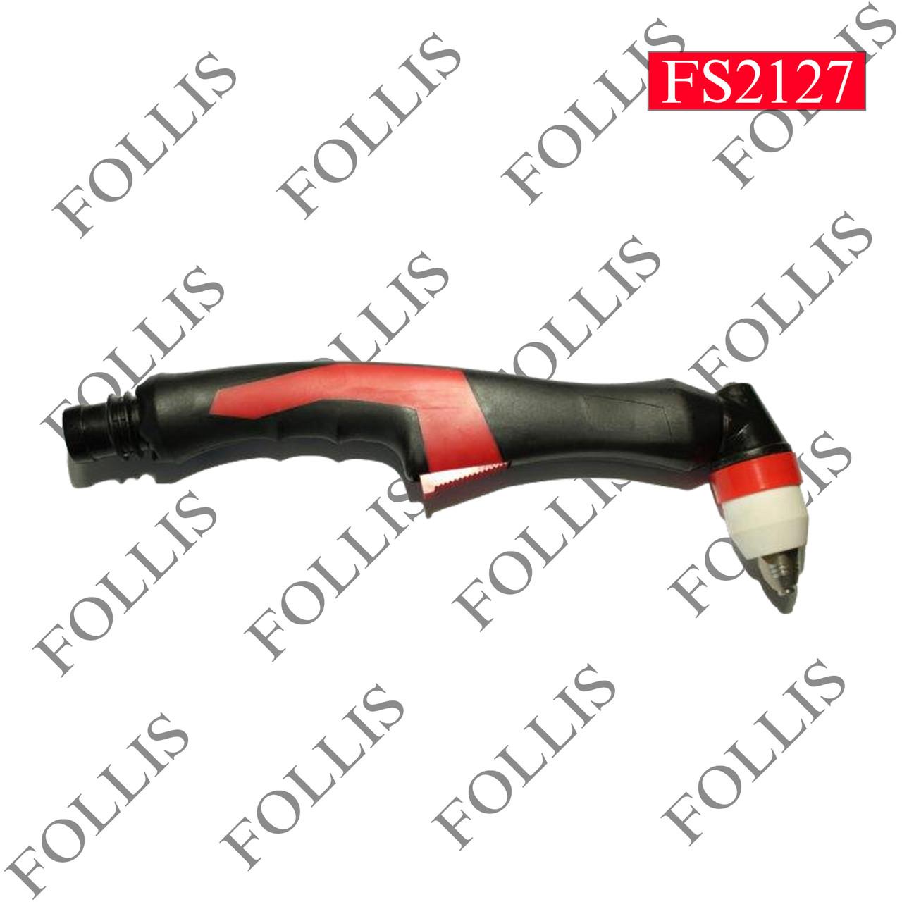Ручка для рукава красный чёрный Р80