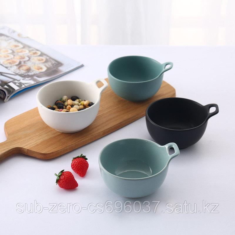 Керамические супницы с ручкой