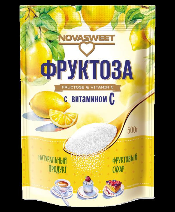 Фруктоза с витамином С, 500 гр