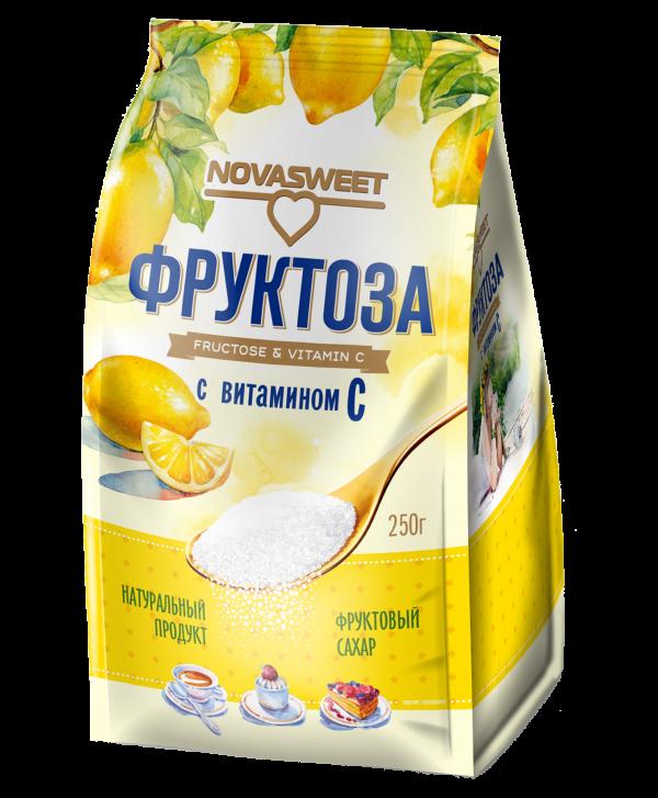 "Фруктоза с витамином С ""Novasweet"" 250 гр"