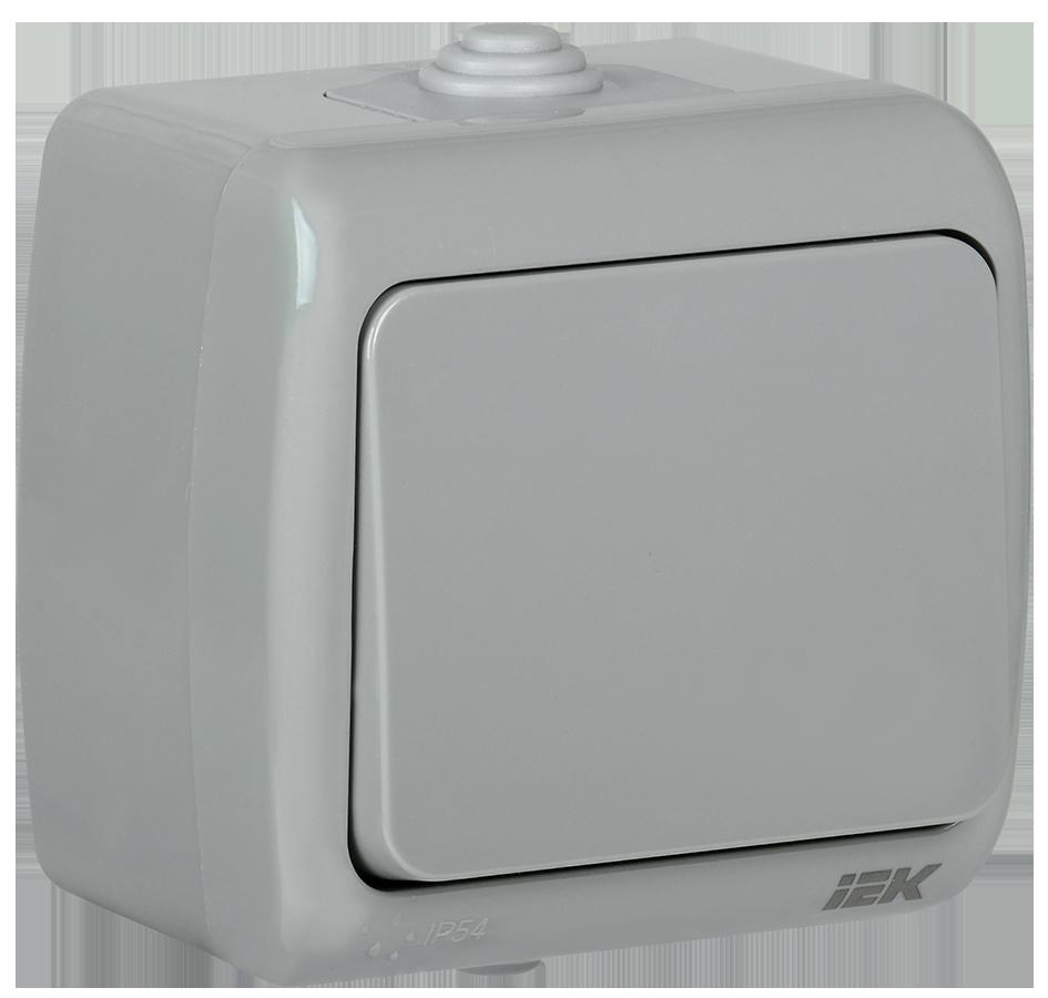 Выключатель ВС-20-1-0-A 1 кл. откр. уст. 10А IP54 AQUATIC ИЭК