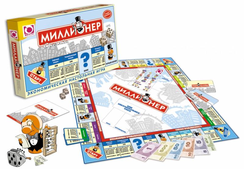 """Настольная игра """"Миллионер Классик"""""""