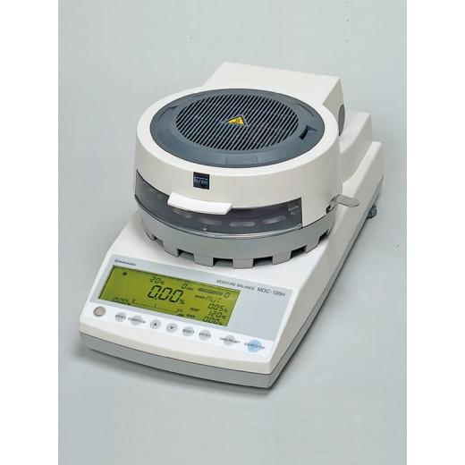 Анализатор влажности МОС-120Н (d чаши-130мм, вес образца 0,001-120г, диапазон измерения 0,01-100%, 4,5кг)