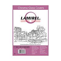 Обложки Lamirel Chromolux A4 LA-78689, картонные, глянцевые, цвет: белый, 230г/м?, 100шт