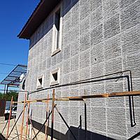 Термопанели КОРОЕД 100 мм Пенопласт, под покраску, фото 1