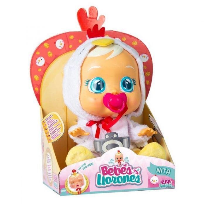 Кукла плачущий младенец CRYBABIES Nita