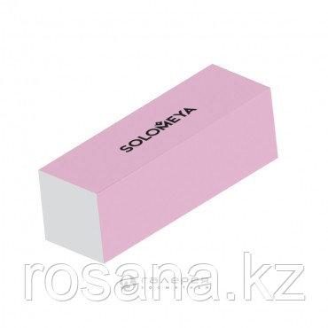 Solomeya Блок-шлифовщик для ногтей розовый