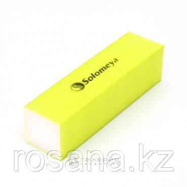 Solomeya Блок-шлифовщик для ногтей желтый