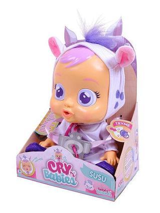 Кукла плачущий младенец CRYBABIES Susu