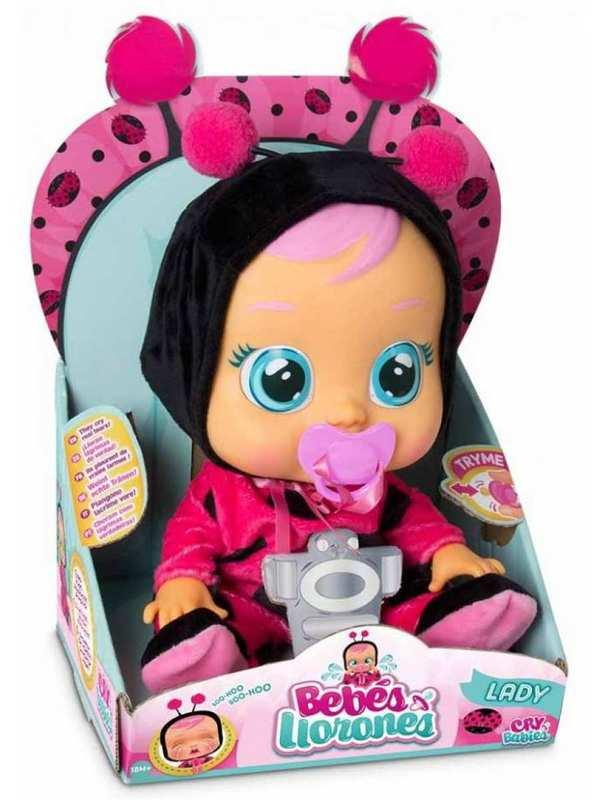 Кукла плачущий младенец CRYBABIES Lady