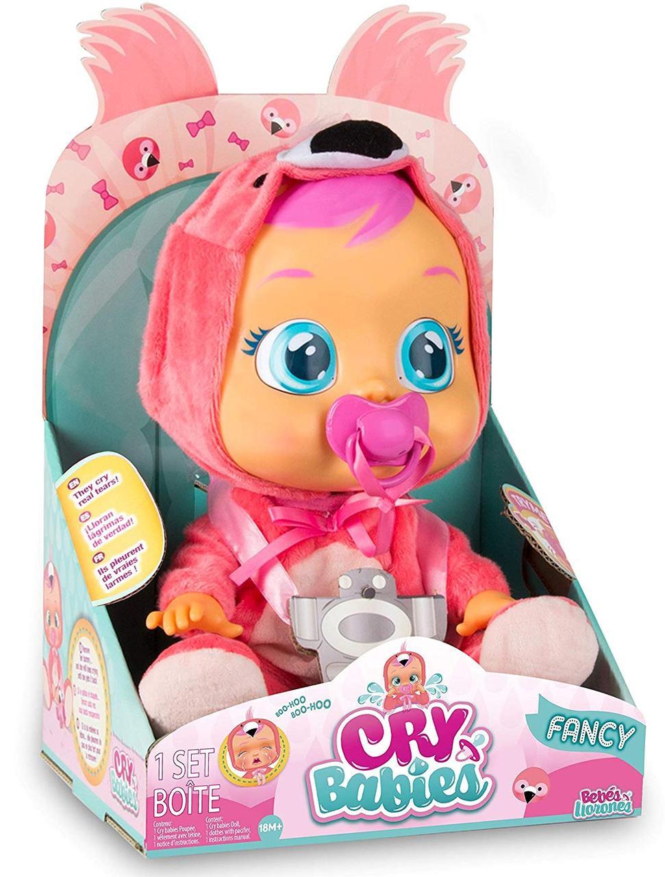 Кукла плачущий младенец CRYBABIES Fancy