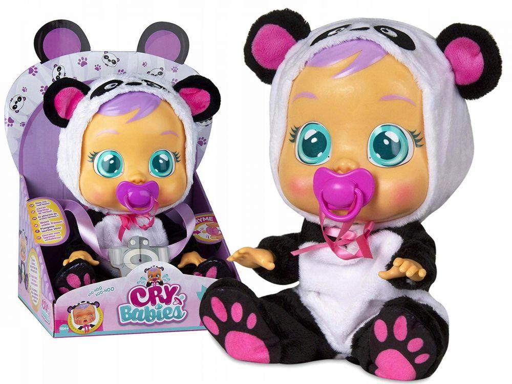 Кукла плачущий младенец CRYBABIES Pandy