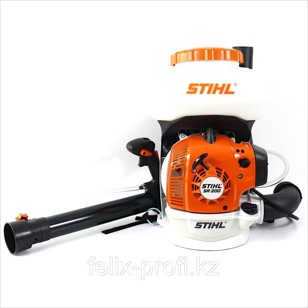 Опрыскиватель бензиновый STIHL SR 200 (Объём двиг. 27,2 куб. , ёмкость бака 10 л. дальность действия 9 м.