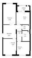 3 комнатная квартира в ЖК OnlySun82.8 м², фото 1