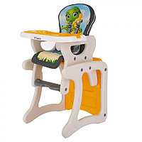Детский стул-трансформер для кормления Pituso Carlo Дракоша (Серый), фото 1