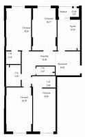 4 комнатная квартира в ЖК OnlySunMoon 130.7 м², фото 1