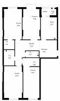 4 комнатная квартира в ЖК OnlySunMoon 132.7 м², фото 1
