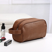 Дорожная сумка - косметичка(коричневая)