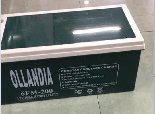 Аккумулятор Ollandia (12В, 200Ач), AGM