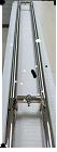 Дверная ручка для стеклянных и алюминиевых дверей,1200*32*1,SS 304,Матовый