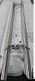 Дверная ручка для стеклянных и алюминиевых дверей, 10000*32*1,2, SS304,Матовый