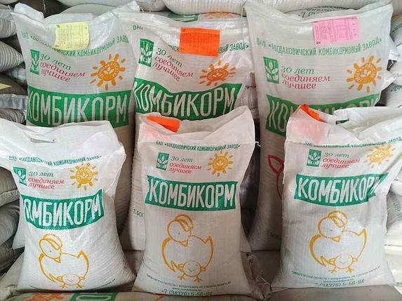 Комбикорм Богданович ПК-6М для молодняка птицы РОСТ с 14дня, фото 2