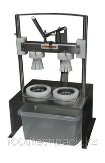 Ручной аппарат 2 головки для резки фруктов SUPERCUTTER MANUAL DOUBLE HEAD