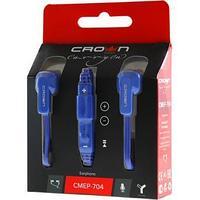 Гарнитура Crown CMEP-704, 20Hz-20kHz, 32 Om, 91dB, 1.2m, Blue