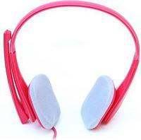 Гарнитура Crown CMH-941 pink, 20Hz-20kHz, 32 Om, 110dB, mic 20Hz-16kHz, 2.1m, Pink