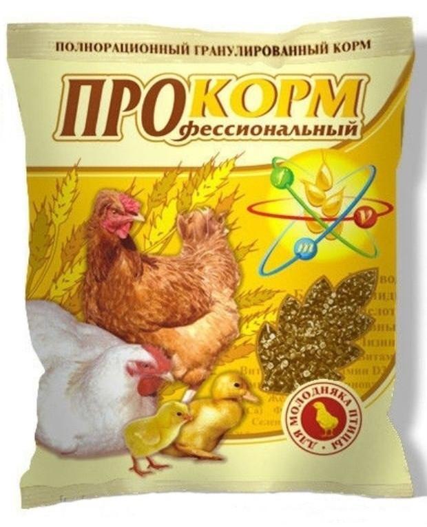 ПроКорм П 21 800гр  корм для цыплят несушки, утят, гусят с первых часов жизни