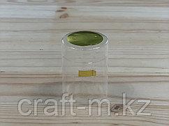 Колпачек с топом термоусадочный прозрачный 30*40мм, 50шт