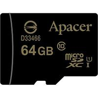 Карта памяти Apacer AP64GMCSX10U1-R 64GB