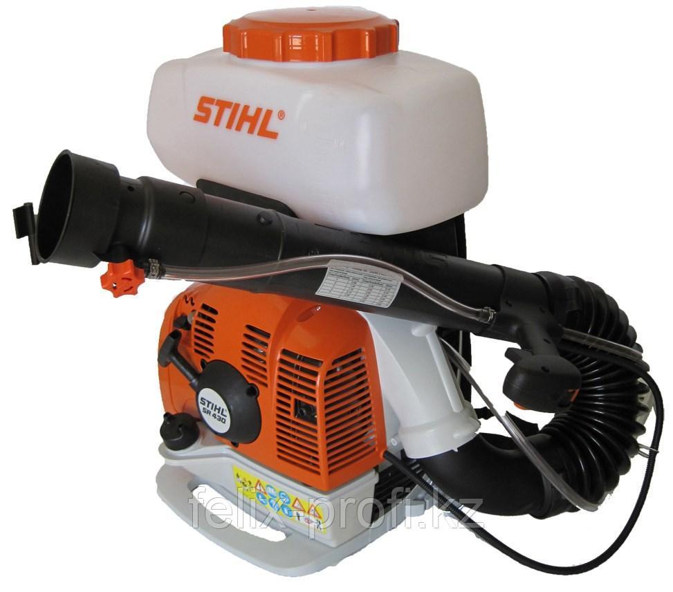 Опрыскиватель бензиновый STIHL SR 450, (бак 14 л, дальность действия по горизонтали 14,5 м)