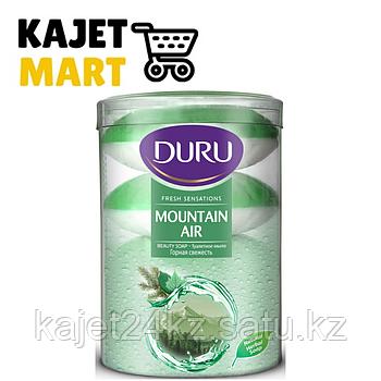 Туалетное мыло Duru Fresh Sen.Mountain (Горная свежесть) 4*110гр. банка