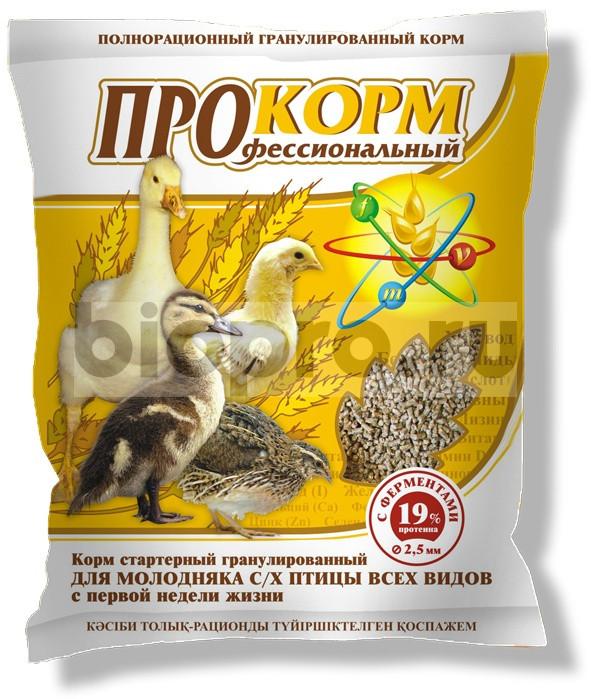 ПроКорм П 21 5кг  корм для цыплят несушки, утят, гусят с первых часов жизни