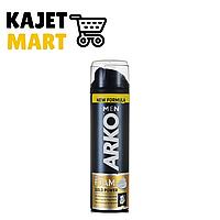 Arko Men Пена для бритья для жесткой щетины GOLD POWER 200мл.