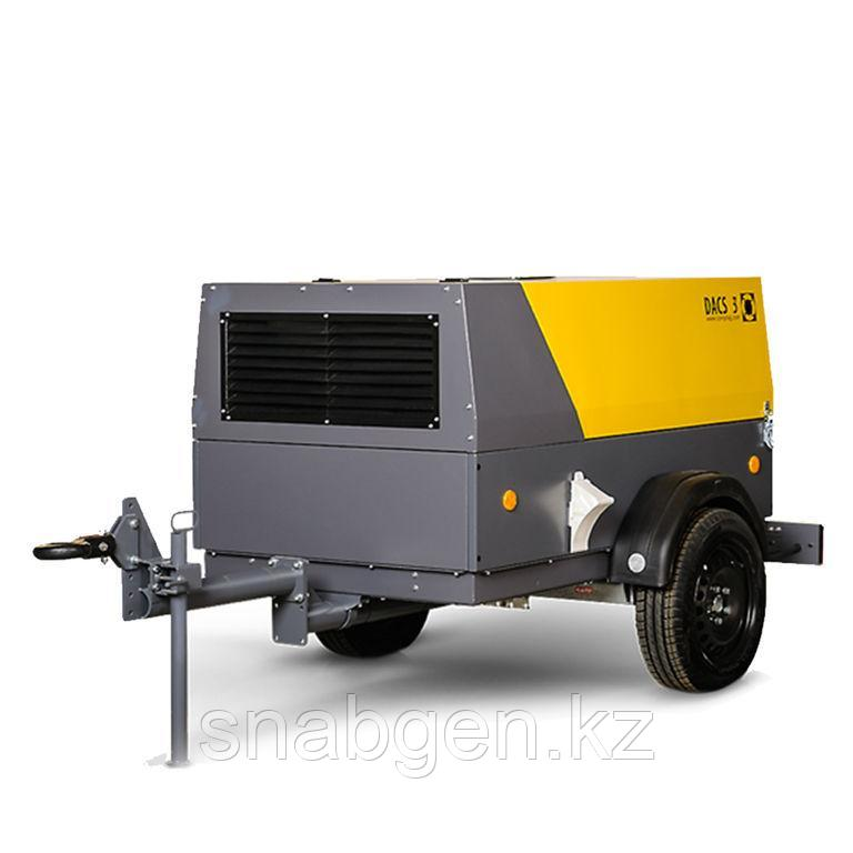 Компрессоры передвижные DACS 5 с производительностью 5 м3/мин