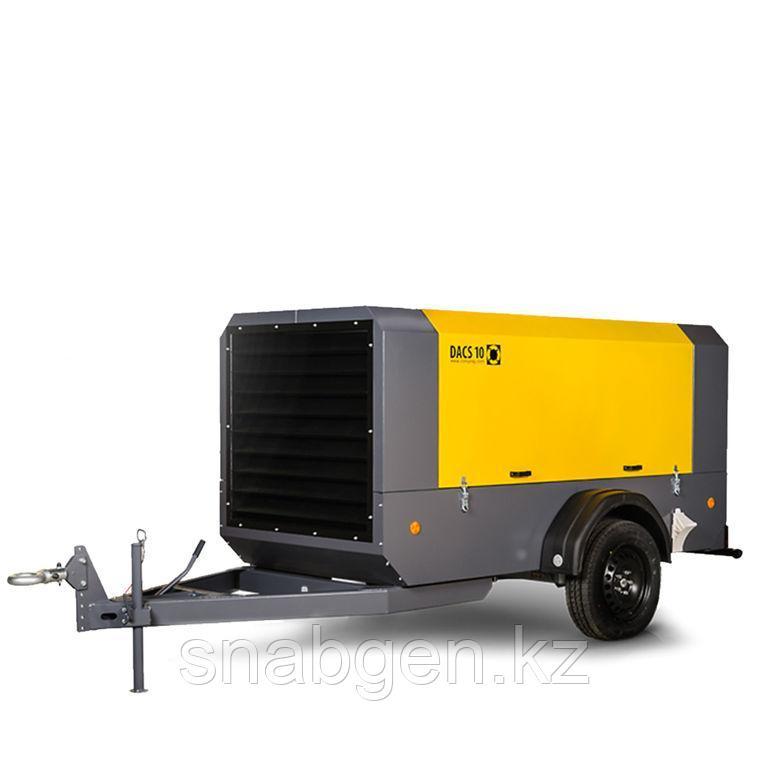 Компрессоры передвижные DACS 10 с производительностью 10 м3/мин